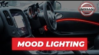 HOW TO ADD MOOD LIGHTING TO YOUR CAR - NISSAN 370Z - EL WIRE - UNDER £5!