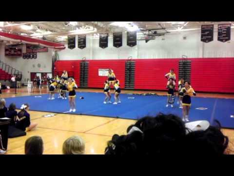 Delaware Valley Regional High School Varsity Cheerleaders - Skyland Conference 11.6.2011