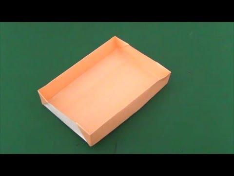 """Easy! Convenience! """"Box""""Origami 簡単 ..."""