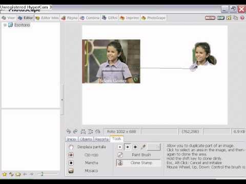 Como hacer una imagen png con photoscape!