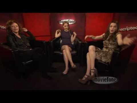 Unscripted: Saoirse Ronan, Rachel Weisz and Susan Sarandon