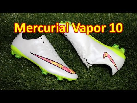 Nike Mercurial Vapor 10 Shine Through - Review + On Feet