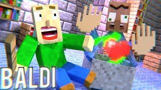 BALDI'S BASICS HORROR GAME – Minecraft Animation Movie