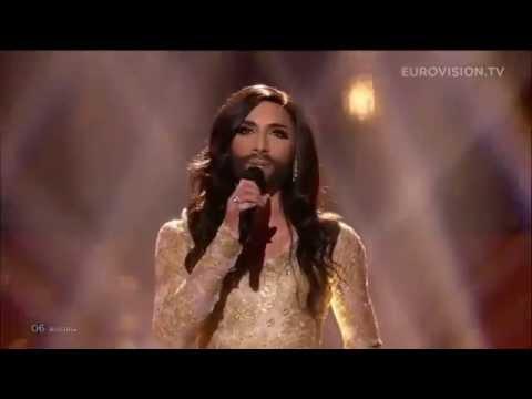 Bearded Lady Eurovision Performance-Conchita Wurst