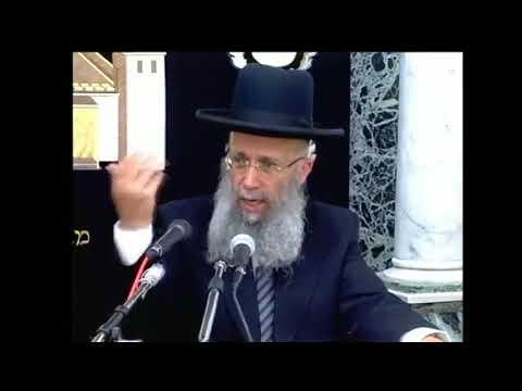 """הרב המקדים הרה""""ג הרב גדעון בן משה שליט""""א - מוצ""""ש ראה תשע""""ז"""