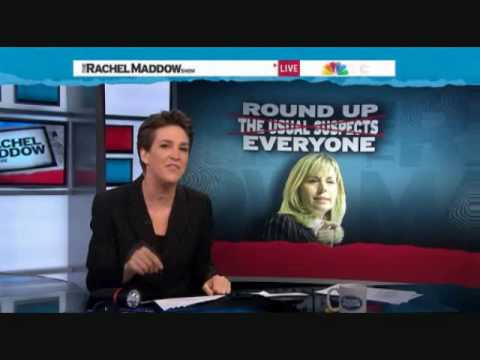 RACHEL MADDOW HAS SOME FUN AT THE EXPENSE OF LIZ CHENEY'S PARANOIA OVER 7 OBAMA LAWYERS