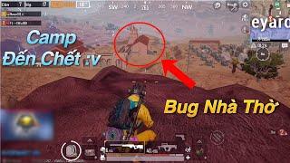 PUBG Mobile | Gặp Phải Thánh China Bug Nhà Thờ và Cái Kết Đắng || Các Bạn Nên Cẩn Thận √