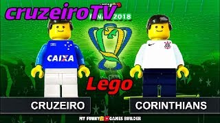 ⏭️CRUZEIRO 1X0 CORINTHIANS - LEGO my funny games builder !! cruzeiroTV