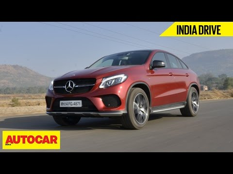 Mercedes Benz GLE 450 AMG Coupe | India Drive | Autocar India