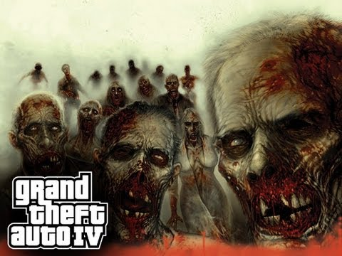 GTA 4 Mods - Zombie Mod PS3