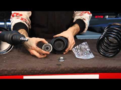 Замена переднего амортизатора рено логан