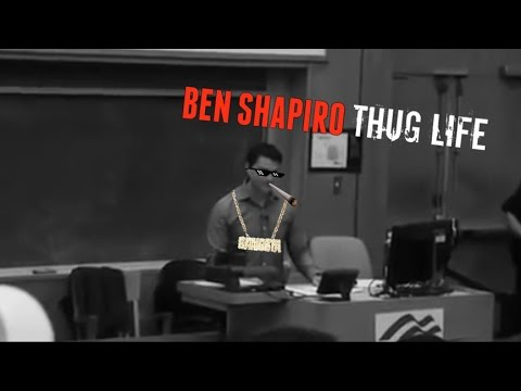 Ben Shapiro Thug Life - Liberal Protests