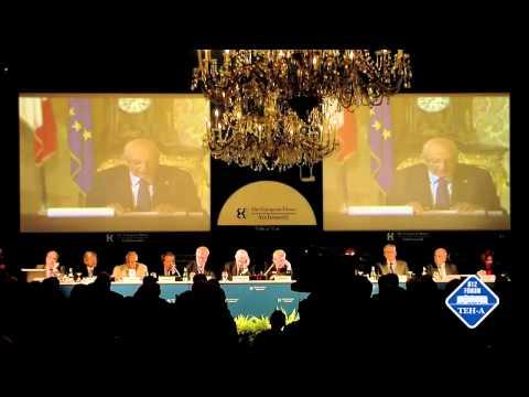 L'intervento di Giorgio Napolitano – Forum Ambrosetti 2012