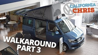 VW California Ocean walkaround part 3 | Camping