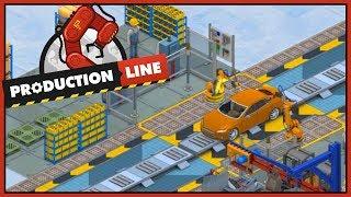 Production Line Simulator   Mijn eerste auto fabriek #1