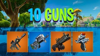 10 new guns coming to Fortnite..