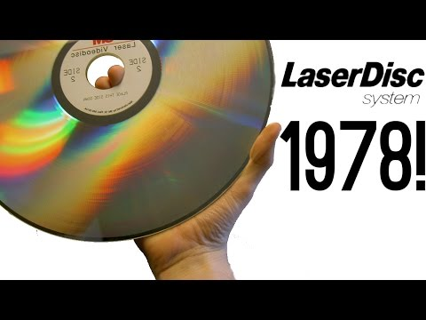 Forgotten Tech | LaserDisc - The DVD of the 1970's!