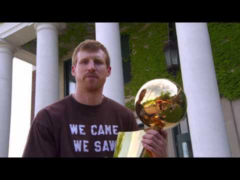Spurs Championship Trophy Tour:  Matt Bonner in New Hampshire klip izle