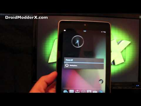 Google Nexus 7 BAMF Paradigm 2.2 lots of Customizations! [FULL REVIEW] and Install