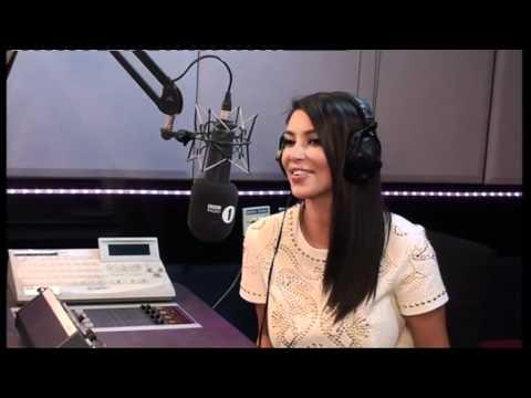 Kim Kardashian drops in on Fearne's show
