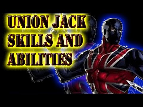 Marvel Avengers Alliance - Union Jack Skills