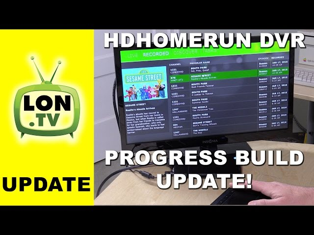 HDHomeRun DVR January, 2016 Update - Beta Windows Client ...