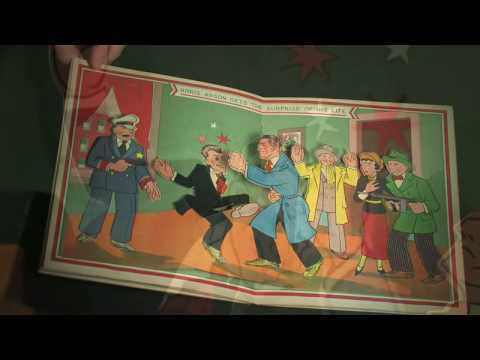 Cooper-Hewitt - Pop-up book: Dick Tracy: The Capture of Boris Arson