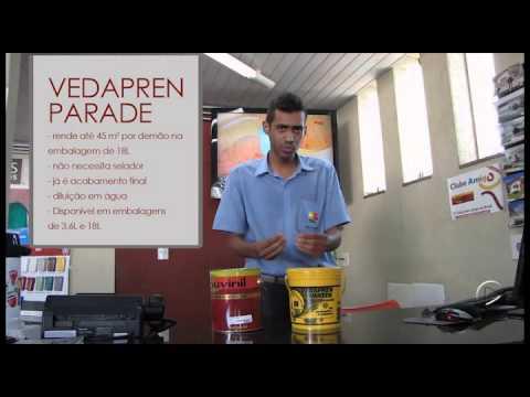 Como aplicar vedapren parede