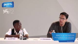 Abraham Attah talks Beasts of No Nation at Venice International Film Festival