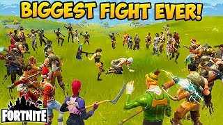 100 PLAYER PICKAXE FIGHT! - Fortnite Funny Fails and WTF Moments! #91 (Daily Moments)