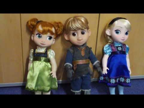 Frozen Disney Animators Collection Dolls Review