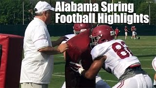 Alabama Football Practice Highlights