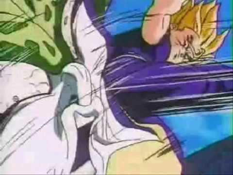 Dragon Ball Z - Gohan vs. Cell - Linkin Park, Numb Video