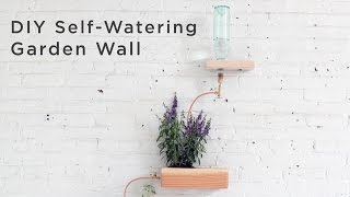 DIY Self-Watering Wall Garden made out of 4x4s