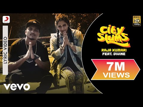 City Slums - Official Lyric Video | Raja Kumari ft. DIVINE ft. DIVINE