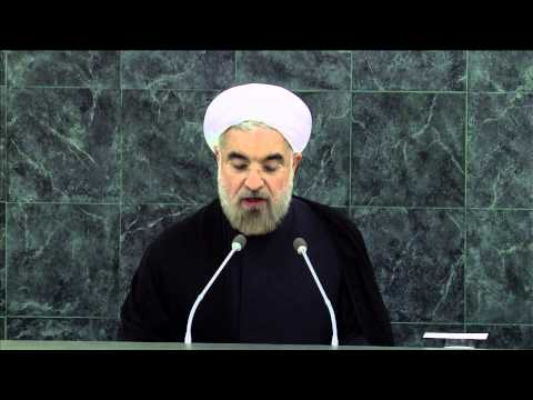 WorldLeadersTV: U.N.: IRAN's NEW PRESIDENT HASSAN ROUHANI SEEKS PEACE & SECURITY
