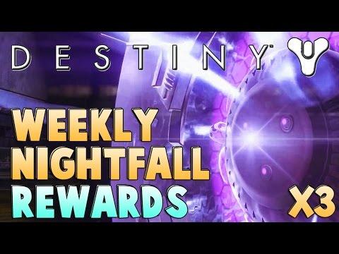 Destiny Weekly Nightfall Strike Rewards x3 | Nightfall Drops Ep. 7 (Sepiks Prime) | Any Exotics?