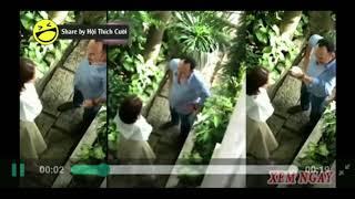 """Xôn xao clip Thu Trang và Tiến Luật cãi nhau cực gắt bị fan quay lại : """"Mày dắt trai đi ngang phòng"""