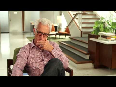 "Mad Men Season 7 John Slattery ""Roger Sterling"" Interview"