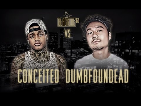 KOTD - Rap Battle - Conceited vs Dumbfoundead