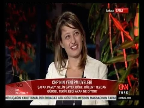 Şafak Pavey CNN Türk ''Ne Oluyor'' Programı - 09.Eylül.2014