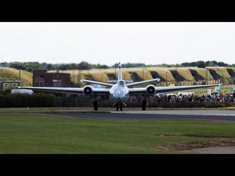 Waddington Airshow 2014 Departures With Air Band Radio