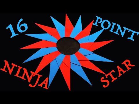 Ninja Stars Wallpaper a 16-pointed Ninja Star