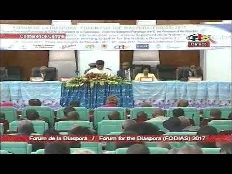 OPENING CEREMONY OF THE CAMEROONIAN DIASPORA FORUM - Mercredi 28 Juin 2017