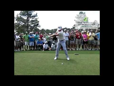 Adam Scott US Masters Champion 2013 Golf Swing