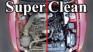Hoe maak jij jouw motorruimte SUPER SCHOON