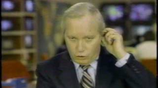 First ABC News Bulletin - President Reagan assassination attempt shooting - Frank Reynolds