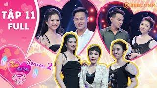 Tần Số Tình Yêu mùa 2 |Tập 11 Full|Top 20 Hoa hậu HV 2017 đẹp nao lòng vẫn lên gameshow tìm bạn trai