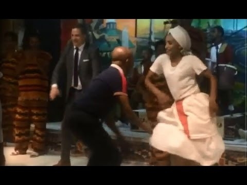 """Ethiopia - Interesting cultural dance with  """"Waka Waka, This Time for Africa"""""""