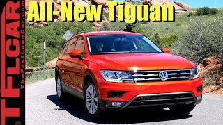 2018 VW Tiguan AWD First Drive Review: It's a Whole New Animal